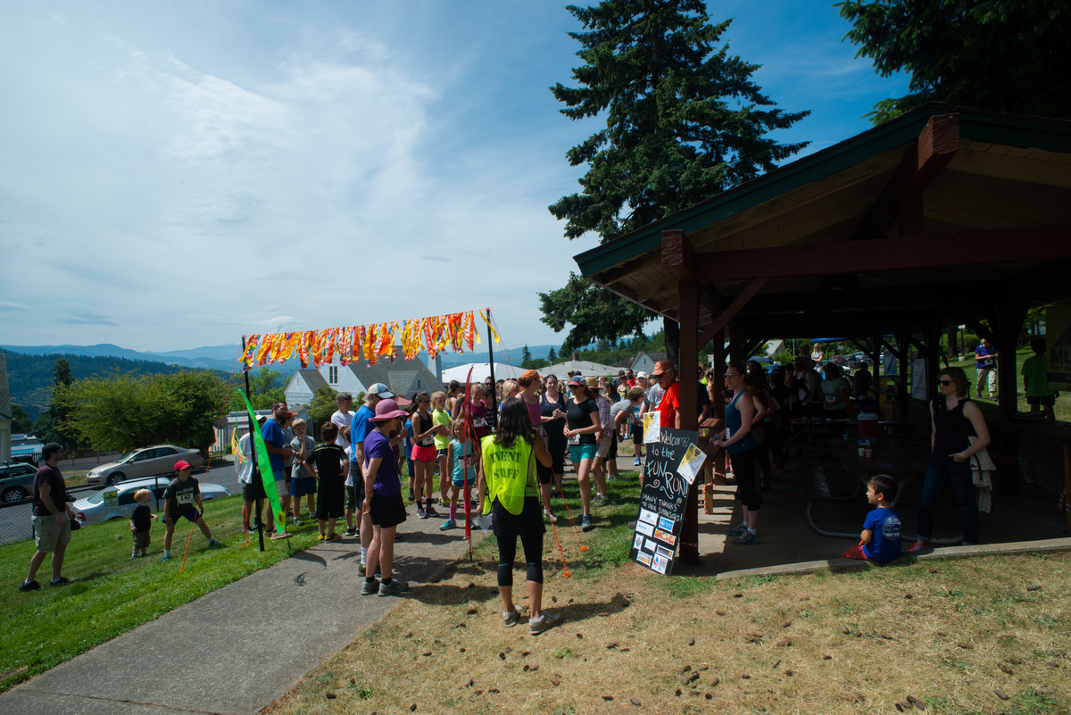 White Salmon SpringFest Fun Run May 31, 2015.